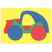 Бомик Пазл для малышей Машинка101Мягкая мозаика выполнена в виде яркой машинки. Мозаика изготовлена из мягкого, прочного материала, который обеспечивает большую долговечность и является абсолютно безопасным для детей. Мягкая мозаика развивает у ребенка память, воображение, моторику, пространственное и логическое мышление. Обучение происходит прямо во время игры!