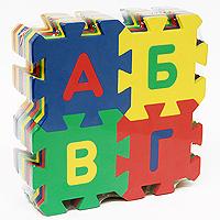 Бомик Пазл для малышей Буквы405С мягким паззлом Буквы у Вашего ребенка появится возможность в игровой форме выучить алфавит, научиться составлять простые слова, а также читать. Благодаря своей мягкости паззл абсолютно безопасен для маленьких детей. Кроме того, из элементов мягкого паззла ребенок сможет собрать яркие кубики. Паззл - великолепная игра для семейного досуга. Сегодня собирание паззлов стало особенно популярным, главным образом, благодаря своей многообразной тематике, способной удовлетворить самый взыскательный вкус. А для детей это не только интересно, но и полезно. Собирание паззла развивает мелкую моторику у ребенка, тренирует наблюдательность, логическое мышление, знакомит с окружающим миром, с цветом и разнообразными формами.