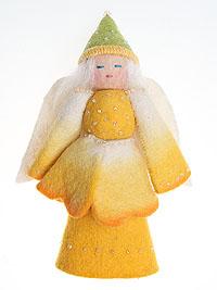 Авторская игрушка 'Ангел конус'. Ручная работа