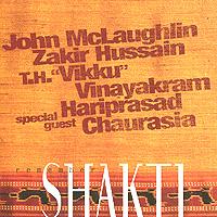 John McLaughlin, Zakir Hussain, T.H. Vikku Vinayakram, Harisprasad Chaurasia. Remember Shakti (2 CD)