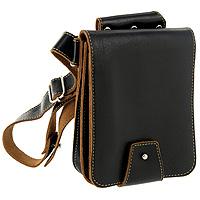Мини-сумка на бедро Texas. S.2.TXS.2.TX.черныйМини-сумка на бедро из коллекции Texas выполнена в толстой винтажной коже с контрастной отделочной строчкой. Внутри расположены карманы для паспорта, мелочи и других необходимых вещей. Карманы закрываются на кнопку и застежку-молнию. Мини-сумка имеет оригинальный и удобный крепеж для крепления на шлевку джинс. Коллекция Texas (Техас) - это комбинация необычного нестандартного дизайна с необходимыми функциональными свойствами. Аксессуары коллекции прочны и практичны, в процессе эксплуатации природная естественность фактуры становится наиболее заметной, выявляется благородный лоск натуральной кожи, сохраняя первоначальную форму.