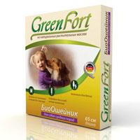 БиоОшейник Green Fort от блох и клещей, для средних пород, длина 65 смG105Репеллентный БиоОшейник на основе композиции из натуральных эфирных масел для отпугивания эктопаразитов собак (блох, вшей, клещей, власоедов, комаров, мух, слепней). БиоОшейник: - безопасен для человека и животных; - не имеет ограничений по физиологическому состоянию; - эффективен до 3 месяцев. Характеристики: Активные компоненты: композиция эфирных масел (цитронеллы, гвоздики, лаванды, корицы). Длина ошейника: 65 см. Размер упаковки: 12 см х 12 см х 2,5 см. Производитель: Россия.