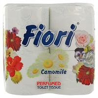 Ароматизированная туалетная бумага Fiori. Ромашка, цвет: белый, 4 рулонаW1920Ароматизированная туалетная бумага Fiori. Ромашка обладает приятным ароматом ромашки. Трехслойная туалетная бумага мягкая, нежная, но в тоже время прочная, с отрывом по линии перфорации.