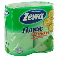 Туалетная бумага Zewa Плюс. Яблоко, ароматизированная, 4 рулона144004Ароматизированная туалетная бумага Zewa Плюс.Яблоко обладает приятным ароматом яблока. Двухслойная туалетная бумага мягкая, нежная, но в тоже время прочная, с отрывом по линии перфорации. Характеристики: Количество листов: 184 шт. Количество слоев: 2. Размер листа: 9,5 см х 12,5 см. Длина рулона: 23 м. Материал: 100% первичная целлюлоза, яблочный ароматизатор. Изготовитель: Россия. Товар сертифицирован.