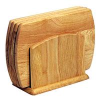 Набор досок разделочных Oriental way 5 предметов 9/9569/956Набор Oriental way состоит из четырех разделочных досок и подставки, которые изготовлены из дерева гевея. Набор прекрасно подойдет для приготовления и сервировки пищи, а благодаря подставке ваши доски всегда будут на месте. Особенности набора Oriental way: высокое качество шлифовки поверхности изделий двухслойное покрытие пищевым лаком, безопасным для здоровья человека степень влажности 8-10%, не трескается и не рассыхается высокая плотность структуры древесины устойчивость к механическим воздействиям. Характеристики: Размер доски: 14 см х 20 см х 1 см. Размер основания подставки: 15,5 см х 8,5 см. Материал: дерево (гевея). Производитель: Тайланд. Артикул: 9/956. Торговая марка Oriental way известна на рынке с 1996 года. Эта марка объединяет товары для кухни, изготовленные из дерева и других материалов. Все товары марки Oriental way являются безопасными для здоровья, экологичными,...