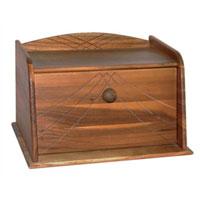 Хлебница Oriental way 9/9609/960Хлебница Oriental way позволит сохранить ваш хлеб свежим и вкусным. Выполнена в классическом дизайне из темной древесины акации. Хлебница снабжена удобной дверцей. Эксклюзивный дизайн, эстетика и функциональность хлебницы делают ее превосходным аксессуаром на вашей кухне. Характеристики: Материал: дерево. Размер: 36 см х 26 см 22,5 см. Изготовитель: Тайланд. Артикул: 9/960. Торговая марка Oriental way известна на рынке с 1996 года. Эта марка объединяет товары для кухни, изготовленные из дерева и других материалов. Все товары марки Oriental way являются безопасными для здоровья, экологичными, прочными и долговечными в использовании.