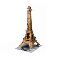CubicFun Эйфелева башня, 35 элементовC044hЭйфелева башня - уникальный конструктор-головоломка, с которым можно играть как дома, так и на улице. Составные элементы конструктора красочны и достаточно большие для того, чтобы даже маленькому ребенку было удобно и комфортно в него играть. Достаточно просто соединить элементы конструктора, и вы получите объемную модель Эйфелевой башни. Эйфелева башня была построена в 1889. Это самая узнаваемая архитектурная достопримечательность Парижа, всемирно известная как символ Франции, названная в честь своего конструктора Густава Эйфеля и являющаяся местом паломничества туристов. Сам конструктор называл ее просто - 300-метровой башней. В 2006 году на башне побывало 6 719 200 человек, а за всю ее историю - 236 445 812 человек. То есть башня является самой посещаемой достопримечательностью мира. Этот символ Парижа задумывался как временное сооружение - башня служила входной аркой парижской Всемирной выставки 1889 года. Создайте свою Вселенную с помощью объемного конструктора...