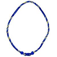 Ожерелье Rakuwa X30, цвет: сине-желтый, 55 смTE04033Ожерелье Rakuwa X30 содержит микротитановые шарики, расположенные по всей внутренней поверхности, а также пропитку акватитаном с фактором X30, что в 30 раз сильнее обычного. Ожерелье Rakuwa X30 улучшает циркуляцию крови в организме, снимает усталость, также помогает при головных болях и гипертонии, расслабляет и восстанавливает силы.