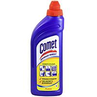 Гель чистящий Comet, лимон, 500 млCG-80227821Чистящий гель Comet предназначен для глубокого очищения поверхностей. Эффективно удаляет повседневные загрязнения и обычный жир во всем доме, а также дезинфицирует поверхности благодаря формуле с хлоринолом. Характеристики: Объем: 500 мл.