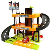 Игровой набор Трехуровневый гараж Bao8437Великолепный трехуровневый гараж со звуковыми эффектами привлечет внимание вашего малыша и не позволит ему скучать. В набор входят машинка и элементы для сборки гаража. Этот гараж - настоящая находка для тех, кто любит свой автомобиль и быструю езду с виражами: здесь есть и лифт, и автомойка, и автозаправка и огромное количество места для парковки, и опускающийся и поднимающийся шлагбаум, и, конечно же, крутые спуски! Ваш ребенок сможет часами играть с этим набором, придумывая разные истории, и с блеском преодолевая препятствия. Порадуйте его таким замечательным подарком!