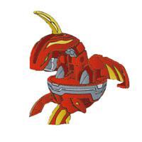 "Брелок-трансформер ""Bakugan (Бакуган): Delta Dragonoid"""
