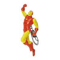 Брелок Железный Человек164602Яркий брелок, с потрясающей точностью копирующий всем известного Железного Человека - героя Вселенной Marvel, привлечет внимание каждого, кто его увидит. Брелок изготовлен из прочного пластика и крепится при помощи карабина на цепочке. Характеристики: Высота брелока: 11 см. Материал: пластик, металл. Размер упаковки: 14 см x 17,5 см x 5 см.