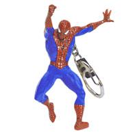 Брелок Человек-Паук. 164502164502Яркий брелок, с потрясающей точностью копирующий всем известного Человека-Паука - героя Вселенной Marvel, привлечет внимание каждого, кто его увидит. Брелок изготовлен из прочного пластика и крепится при помощи карабина на цепочке. Характеристики: Высота брелока: 9,5 см. Материал: пластик, металл. Размер упаковки: 14 см x 17,5 см x 5 см.