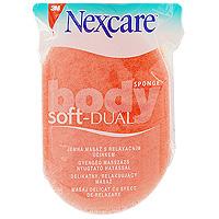 Губка массажная Nexcare для тела, мягкаяRN-0009-3317-6Губка массажная Nexcare для тела обладает двойным действием. Ухаживает за чувствительными участками кожи своей мягкой поролоновой стороной, а нежный массажный слой очищает и обновляет кожу. Деликатно удаляет отмершие клетки кожи. Способствует лучшему впитыванию косметических, антицеллюлитных средств. Сделана из синтетических волокон - легко моется и быстро сохнет.