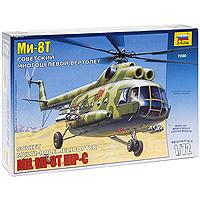 Сборная модель Советский многоцелевой вертолет Ми-8Т7230Сборная модель Советский многоцелевой вертолет Ми-8Т привлечет внимание не только ребенка, но и взрослого и позволит своими руками создать уменьшенную копию известного вертолета. Советский многоцелевой вертолет Ми-8Т - это военная модификация транспортного вертолета Ми-8. Он снабжен блоками НУPC для ударов по наземным целям, а также может перевозить группу полностью экипированных солдат. Ми-8Т активно применялся в ходе всей Афганской войны.