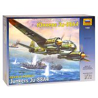 Сборная модель Немецкий бомбардировщик Юнкерс Ju-88А47282Сборная модель Немецкий бомбардировщик Юнкерс Ju-88А4 привлечет внимание не только ребенка, но и взрослого и позволит своими руками создать уменьшенную копию известного самолета. JU-88 A4 - самая удачная и массовая модификация немецкого среднего бомбардировщика Junkers. Конструкторы усилили оборонительное вооружение и бронезащиту экипажа, заменили устаревшие пулеметы MG-15 на более совершенные MG-81. Первой проверкой боем ля этих машин стали сражения в небе нашей страны, разгоревшиеся после нападения Германии на СССР. В последствии эти самолеты воевали на всех театрах военных действий от Крайнего Севера до Африки.