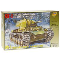Сборная модель Тяжелый советский танк КВ-1 с пушкой Л-113624Сборная модель Тяжелый советский танк КВ-1 с пушкой Л-11 привлечет внимание не только ребенка, но и взрослого и позволит своими руками создать уменьшенную копию известного танка. KB был подлинно новаторской конструкцией, воплотившей в себе самые передовые идеи: индивидуальную торсионную подвеску, надежное противоснарядное бронирование, дизельный двигатель и мощное 76-мм универсальное орудие Л-11. Первые же встречи немцев КВ ввели их в состояние шока. Так один единственный KB с 24 июня 1941 года два дня задерживал наступление всей 3-й танковой дивизии вермахта, перекрыв важную дорогу в болотистой местности около прибалтийского городка Расейня. Оказалось, что KB ни при каких обстоятельствах не пробивался из немецких танковых пушек, не страшна ему была и противотанковая артиллерия.