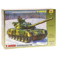 Сборная модель Российский основной боевой танк Т-80УД3591Сборная модель Российский основной боевой танк Т-80УД привлечет внимание не только ребенка, но и взрослого и позволит своими руками создать уменьшенную копию известного танка. Танк Т-80УД поступил на вооружение в 1987 году. На нем установили динамическую защиту и дизельный двигатель. Новый комплекс ракетного вооружения 9К119 Рефлекс с наведением ракет по лазерному лучу позволяет запускать их во время движения танка на любых скоростях. Улучшены возможности ведения как дальнего, так и ближнего огневого боя. Масса танка Т-80УД возросла до 46 т, но превосходные динамические качества сохранились.