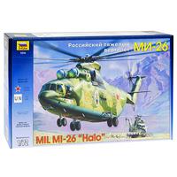 Сборная модель Российский тяжелый вертолет Ми-267270Сборная модель Российский тяжелый вертолет Ми-26 привлечет внимание не только ребенка, но и взрослого и позволит своими руками создать уменьшенную копию известного вертолета. Вертолет Ми-26 является самым тяжелым летающим вертолетом в мире. Он был разработан в 70-х годах, а на вооружение поступил в 1981 году. Это великолепный транспортный вертолет для быстрой переброски войск. Ми-26 стоит на вооружении ВВС стран СНГ, Индии, Малайзии, Перу, Южной Кореи и используется в гражданских целях.