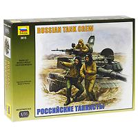 Набор миниатюр Российские танкисты3615Набор миниатюр Российские танкисты включает в себя элементы для сборки трех танкистов. Группа представляет собой экипаж танка Т-72 или Т-80. Все танкисты одеты в офицерские армейские ватные полушубки, на головах - танковые шлемы ТШ4. Два стоящих танкиста вооружены уставным личным оружием - 7,62-мм автоматами АКМС. Характеристики: Высота получаемой фигурки танкиста: 5 см. Размер упаковки: 22 см х 15 см х 3 см. Внимание! Уважаемые клиенты, обращаем ваше внимание на то, что модель собирается с помощью специального клея, выпускаемого предприятием Звезда. Клей и краски в комплект не входят.