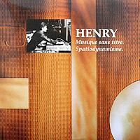 Pierre Henry. Musique Sans Titre / Spatiodynamisme (LP)