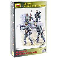 Набор миниатюр Немецкие панцергренадеры3582Набор миниатюр Немецкие панцергренадеры включает в себя элементы для сборки четырех миниатюр немецких солдат. С появлением первых танков, возникла потребность в специальных пехотных подразделениях, способных вести боевые действия совместно с наступающими танковыми частями. В германской армии панцергренадеры являлись самыми подготовленными подразделениями и принимали активное участие во всех операциях на территории Европы и Советского Союза.