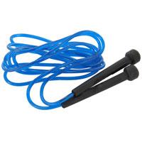Скакалка Start Up. JR-07A , цвет: синий150489_1Скакалка Start Up имеет удобные сбалансированные ручки и подходит для людей разного роста. Она выполнена из прочного поливинилхлорида. Занятия со скакалкой улучшают работу сердечно-сосудистой системы, тренируют мышцы ног и рук, выносливость, помогают избавиться от лишнего веса.