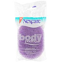 Губка массажная Nexcare для тела, пилингRN-0009-3319-2Губка массажная Nexcare для тела обладает эффектом пилинга. Удаляет отмершие клетки верхних слоев кожи, омолаживает кожу, улучшая обмен веществ и усиливая процессы регенерации. Обладает массажным эффектом, помогает снять мышечную усталость. Способствует улучшению микроциркуляции крови. Способствует лучшему впитыванию косметических, антицеллюлитных средств. Сделана из синтетических волокон - легко моется и быстро сохнет.