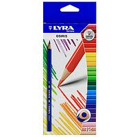 Набор цветных карандашей Osiris, 12 шт. L2521120L2521120Удобный набор цветных карандашей Osiris стандартного размера для школы и детского творчества. Округло-треугольный корпус карандаша выполнен из дерева, грифель, даже при падении карандаша, не ломается. Яркие цвета и превосходное качество порадуют детей и их родителей. Характеристики: Длина карандаша: 17,5 см. Диаметр карандаша: 0,8 см. Диаметр грифеля: 0,3 см. Количество: 12 шт. Производитель: Германия. Изготовитель: Индонезия. Артикул: 252120. Уважаемые клиенты! Обращаем ваше внимание на измененный дизайн упаковки. Поставка возможна в одном из двух вариантов нижеприведенных упаковок, в зависимости от наличия на складе. Комплектация осталась без изменений.
