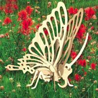 Сборная деревянная модель БабочкаЕ022Сборная деревянная модель Бабочка позволит Вам и Вашему ребенку собрать объемную деревянную скульптуру в виде бабочки. Модель для сборки развивает мелкую моторику, ителлектуальные способности, воображение и конструктивное мышление, тренирует терпение и усидчивость.