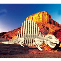 Сборная деревянная модель ДиметеродонЖ-012Сборная деревянная модель Диметеродон позволит Вам и Вашему ребенку собрать объемную деревянную фигурку в виде динозавра Диметеродона. Модель для сборки развивает мелкую моторику, ителлектуальные способности, воображение и конструктивное мышление, тренирует терпение и усидчивость.