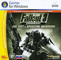 Fallout 3: The Pitt and Operation: AnchorageFallout 3: The Pitt and Operation: Anchorage объединяет два первых дополнения для культовой ролевой игры Fallout 3 - Operation: Anchorage и The Pitt. В обоих случаях вас ждет незабываемое путешествие в неизведанные части постапокалиптического мира, новое оружие, новые друзья и враги. В Operation: Anchorage вы примите участие в освобождении от китайских интервентов города Анкоридж на Аляске. По сюжету, чтобы открыть путь в убежище, содержащее продвинутые военные технологии, необходимо полностью пройти программу виртуального военного симулятора. В нем-то и воспроизводится операция по зачистке Анкориджа. Оказавшись в компьютерной, но совершенно неотличимой от настоящей реальности, вы должны будете играть по заданным правилам. А именно, прорываться на китайскую базу, используя предусмотренную создателями симулятора экипировку и оружие. Дополнение The Pitt предлагает в корне иные приключения, а значит, максимально разнообразит впечатления от игры. Ваш путь лежит в...