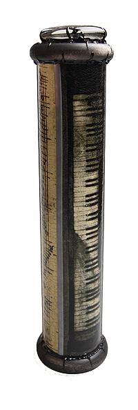 """Красивое стекло Калейдоскоп """"Бетховен"""". Цветная печать, кракелюрный лак, металл, лак, зеркала, стекло, акрил, дерево. Ручная авторская"""
