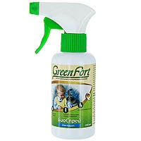 БиоСпрей Green Fort от блох и клещей, для кошек, 200 млG111Репеллентный БиоСпрей Green Fort на основе композиции из натуральных эфирных масел для избавления и отпугивания эктопаразитов собак (блох, вшей, клещей, власоедов, комаров, мух, слепней). БиоСпрей Green Fort: - безопасен для человека и животных; - не имеет ограничений по физиологическому состоянию; - дает мгновенный результат. Характеристики: Активные компоненты: композиция эфирных масел (цитронеллы, ним), спирт изопропиловый. Объем: 200 мл. Артикул: G107. Производитель: Россия.