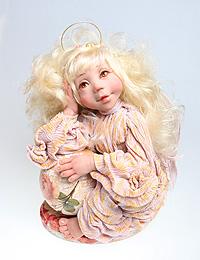 Авторская кукла 'Ангел-Хранитель' - Ручная работа