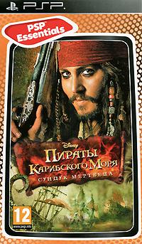 Пираты Карибского моря. Сундук мертвецаИгра основана на сюжете одноименного фильма и повествует о приключениях капитана Джека Воробья в битве за свою душу. Игрокам предстоит овладеть мастерством фехтования, их ждут схватки с пиратами, аборигенами-людоедами и нежитью Дейви Джонса, а также морские сражения, хитроумные ловушки и поиски легендарного сундука мертвеца. Особенности игры: Руби и кромсай врагов, вставших у тебя на пути! Отыщи легендарный сундук мертвеца! Овладей мастерством фехтования! Топи вражеские суда! Документация на русском языке. Языки интерфейса: английский. Системные требования: Платформа Sony PSP .
