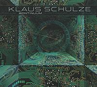 Klaus Schulze. Kontinuum 2010 Audio CD