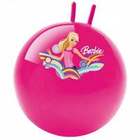 Мяч-попрыгун Барби, 45 см06/632Мяч-попрыгун - отличный подарок для Вашего ребенка! Мяч оформлен красочным изображением Барби. Это и мячик-игрушка, и спортивный снаряд, который поможет в развитии физических навыков. Благодаря специальной ручке, ребенок может удобно сидеть на мяче и прыгать, отталкиваясь ногами от пола. Помогает развивать и укреплять мышцы спины, живота, ног, рук и формирует правильную осанку.