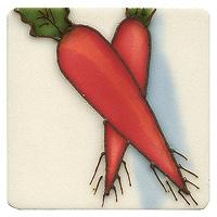 Магнит декоративный Морковь. 1018910189Декоративный магнит Морковь отлично подойдет для декорации вашего интерьера. С помощью магнита вы можете закрыть мелкие дефекты на холодильнике, которые резко бросаются в глаза, оставить сообщения для членов семьи на записках. Также с помощью магнита вы придадите индивидуальность своему кухонному интерьеру.