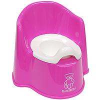 Горшок-кресло BabyBjorn, цвет: розовый0551.55Ваш малыш будет в восторге от горшка-кресла BabyBjorn, ведь это личный маленький туалет. Специальный дизайн спинки, высокие и удобные подлокотники позволяют ребенку комфортно сидеть так долго, как это необходимо. Внутренняя часть горшка легко вынимается и моется отдельно. По анатомической форме подходит как девочкам, так и мальчикам. Особенности детского горшка-кресла BabyBjorn: высокая и удобная спинка; удобные подлокотники; достаточное пространство для ног; действенная защита от брызг предотвращает ненужное разбрызгивание; устойчиво стоит на месте благодаря резиновым планкам; прочная пластмасса, которая поддается утилизации.