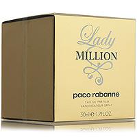 "Paco Rabanne ""Lady Million"". Парфюмированная вода, 50 мл 3349668508488"