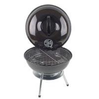 Барбекю Искра, настольнаяDBA-0010Компактная барбекю-гриль Искра, предназначенная для жарки, тушения, копчения, запекания мяса, рыбы и овощей, идеальный выбор для дачи или загородного коттеджа. Барбекю с покрытием из жаропрочной эмали имеет нержавеющий алюминиевый поддон для пепла, стальную решетку для приготовления пищи и дополнительную решетку для размещения угля, которая поможет равномернее распределить жар углей. Крышка барбекю имеет укрепленную пластиковую ручку и оснащена регулятором тяги и температуры, что позволяет приготовить продукты быстро, а также придать вкусовые качества, свойственные продуктам горячего копчения. Гриль легко моется и чистится, а благодаря прорезиненным ножкам не скользит по поверхности. Характеристики: Диаметр чаши: 36 см. Общая высота: 40 см. Материал: сталь, алюминий. Размер упаковки: 37,5 см x 37,5 см x 14 см. Производитель: Россия. Изготовитель: Китай. Артикул: DBA-0010.