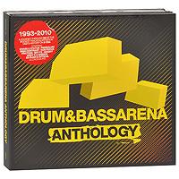 Drum & Bass Arena. Anthology (3 CD) 2010 3 Audio CD