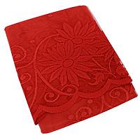 """Гардина из тюля """"Mara"""", высота: 150 см, цвет: красный ( 9810 )"""