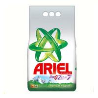 Стиральный порошок Ariel, автомат, горный родник, 6 кгAS-81454714Стиральный порошок Ariel предназначен для стирки в стиральных машинах любого типа. Он эффективно отстирывает различные пятна. В состав порошка входят специальные полимеры, которые отбеливают и сохраняют белизну вещей надолго, а также разглаживают хлопковые волокна. Стиральный порошок отлично отстирывает даже в холодной воде, потому что содержит специальные энзимы, которые начинают работать уже при низких температурах. Порошок содержит компоненты, помогающие защитить стиральную машину от накипи и известкового налета.