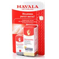 """Подарочный набор """"Mavala"""". Питательное масло для роста ногтей """"MavaDerma"""", укрепитель ногтей """"Scientifique Научный подход"""" 11-017"""