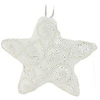 Набор подвесных украшений Звезды, цвет: белый, 4 шт0197-1100Набор подвесных пластиковых украшений украсит новогоднюю елку и создаст теплую и уютную атмосферу праздника. Украшения упакованы в коробку, перевязанную белой лентой. Новогодние украшения всегда несут в себе волшебство и красоту. Почувствуйте волшебные минуты ожидания праздника, создайте новогоднее настроение вашим дорогим и близким! Характеристики: Материал: пластик. Размер украшения: 11,5 см х 10,5 см х 3 см. Комплектация: 4 шт. Размер упаковки: 12 см х 33,5 см х 4,5 см. Изготовитель: Китай. Артикул: 0197-1100.
