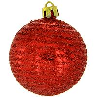 Набор новогодних шаров Спираль, цвет: красный, 6 шт0162-1100Набор подвесных пластиковых шаров украсит новогоднюю елку и создаст теплую и уютную атмосферу праздника. В наборе 6 шаров декорированных оригинальным блестящим рисунком. Шарики упакованы в пластиковую коробку, перевязанную красной лентой. Откройте для себя удивительный мир сказок и грез. Почувствуйте волшебные минуты ожидания праздника, создайте новогоднее настроение вашим дорогим и близким. Характеристики: Материал: пластик. Диаметр шара: 5,5 см. Размер упаковки: 12 см х 6 см х 18 см. Комплектация: 6 шт. Изготовитель: Китай. Артикул: 0162-1100.