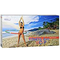 "Gezanne Обруч-тренажер Gezatone ""Fitness Hoop Evo"", диаметр 98 см, вес 0,8 кг"