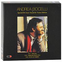Andrea Bocelli. Special De Luxe Sound & Vision Edition (2 CD + DVD) 2010